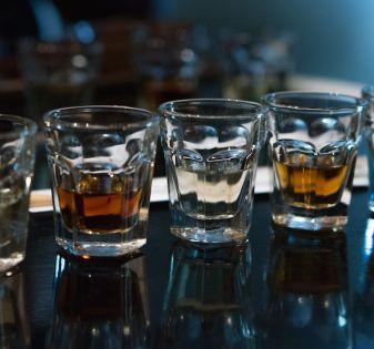 Japanse azijn shots