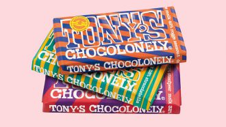 Tony's Chocolonely limited edition 2017