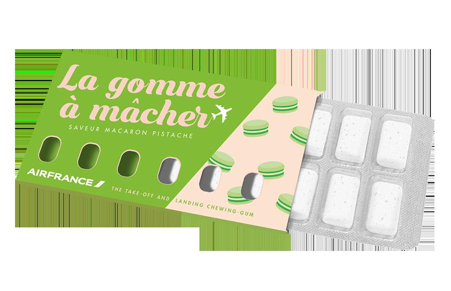 kauwgom macarons pistache