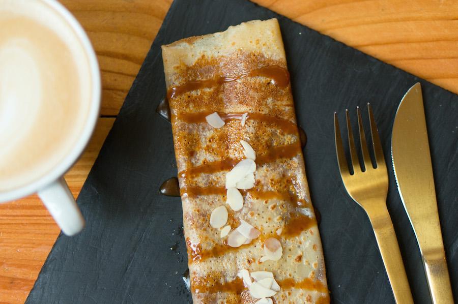 crêpe salted caramel Cocotte