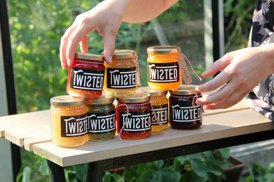 food waste / twisted jams