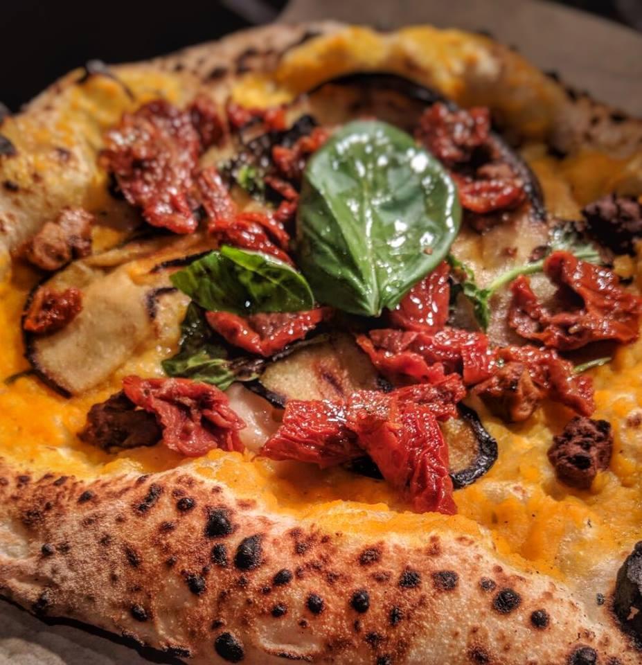 veganistische pizza