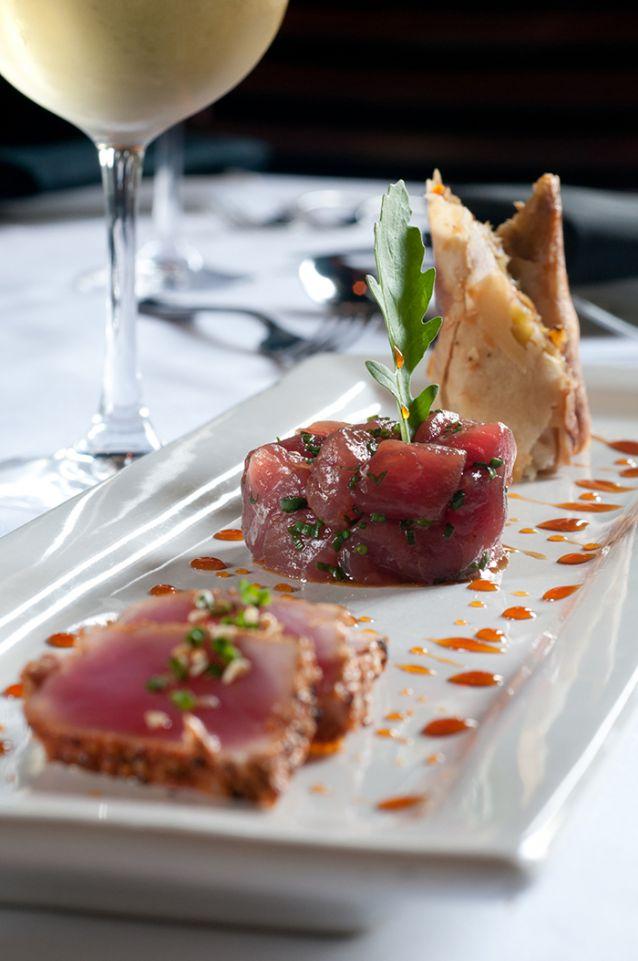 Tuna prepared three differt ways