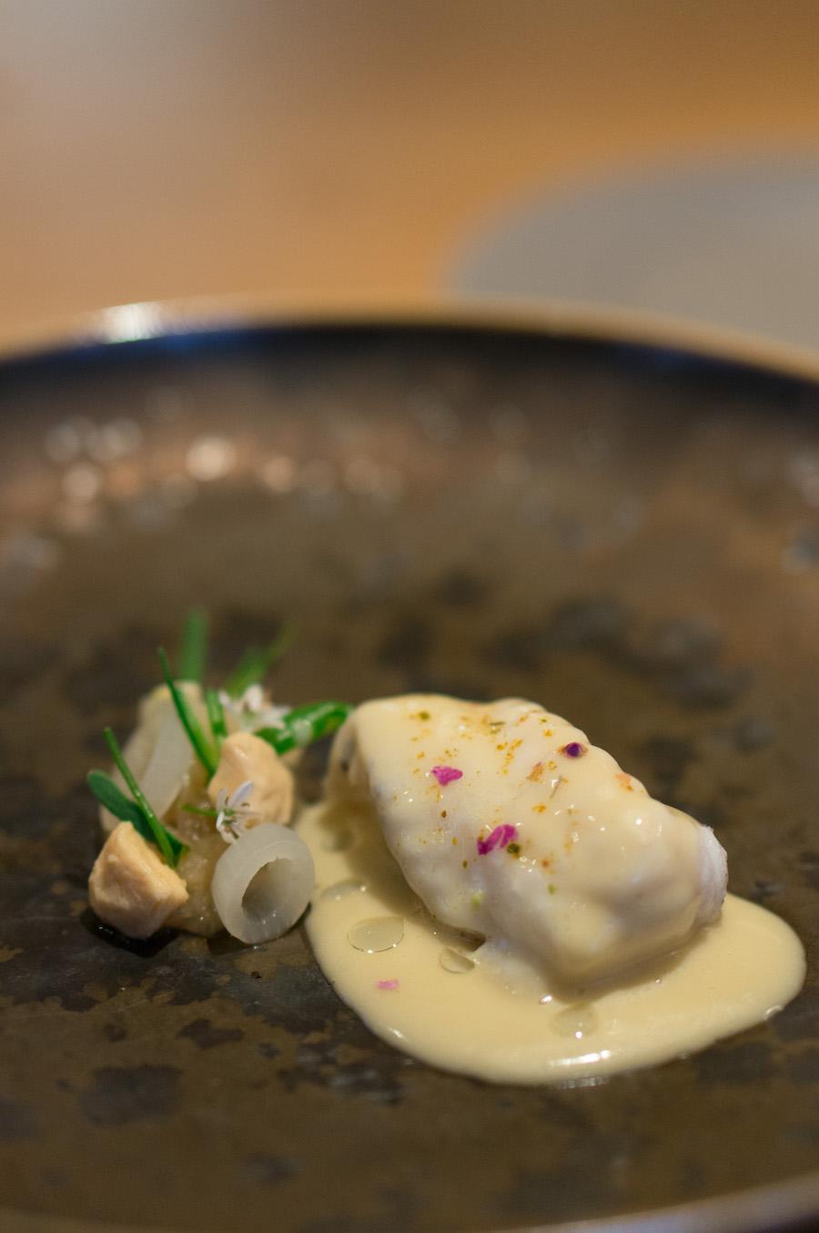zeeduivel met garam massala