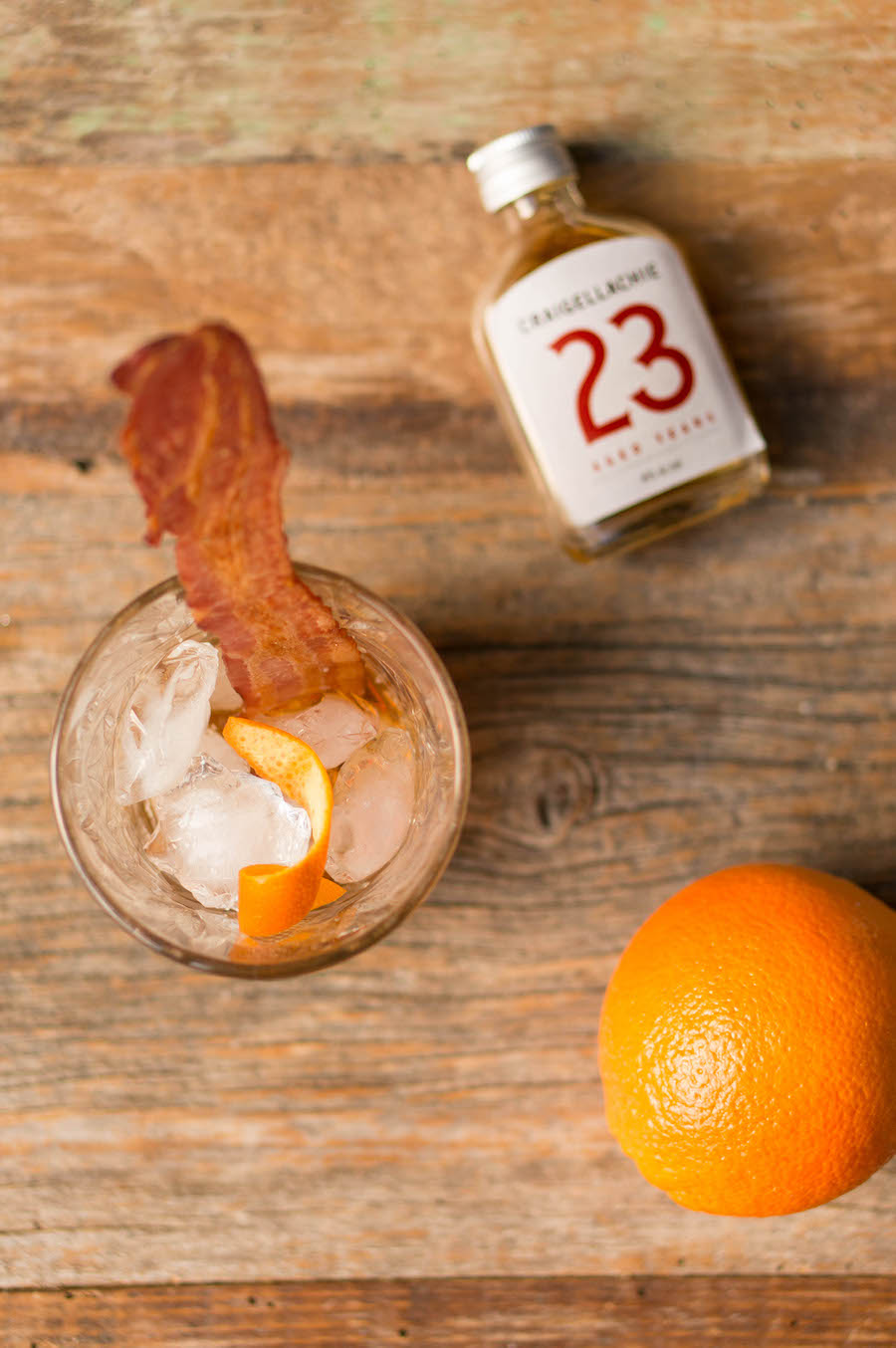 Old Fashioned met bacon