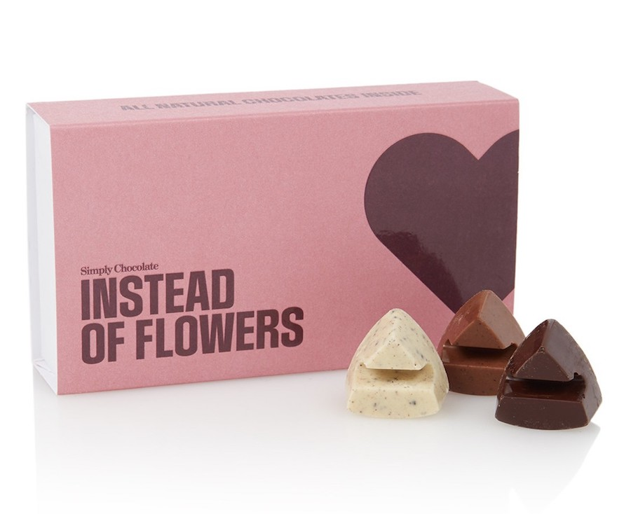 simply chocolate cadeaus voor Valentijnsdag