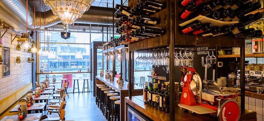 wijnbars in Rotterdam