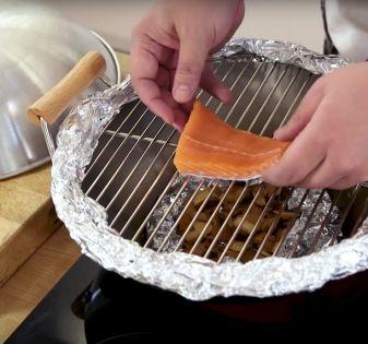 rookoven maken wok