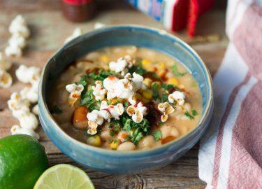 vegetarische chili blanco