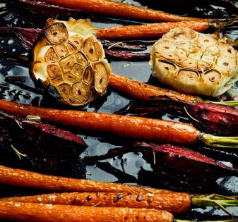 groenten marineren wortels