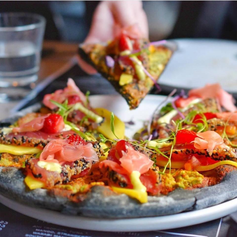 sashimi pizza Melbourne