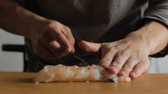 sushi op een studentenkamer Ephemeral