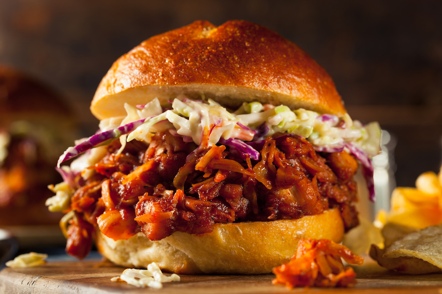 vegan pulled pork jackfruit