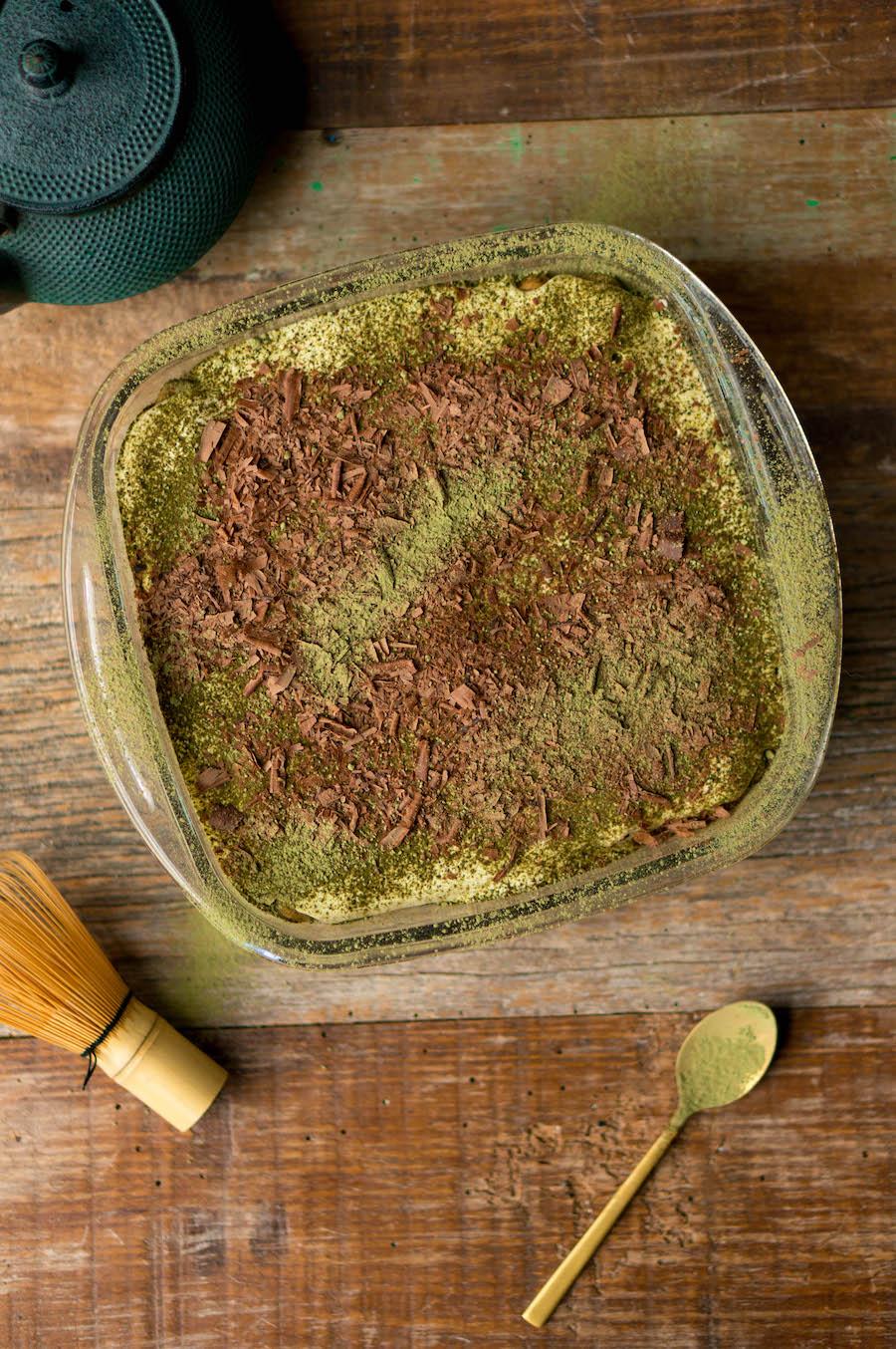 matcha-tiramisu recept