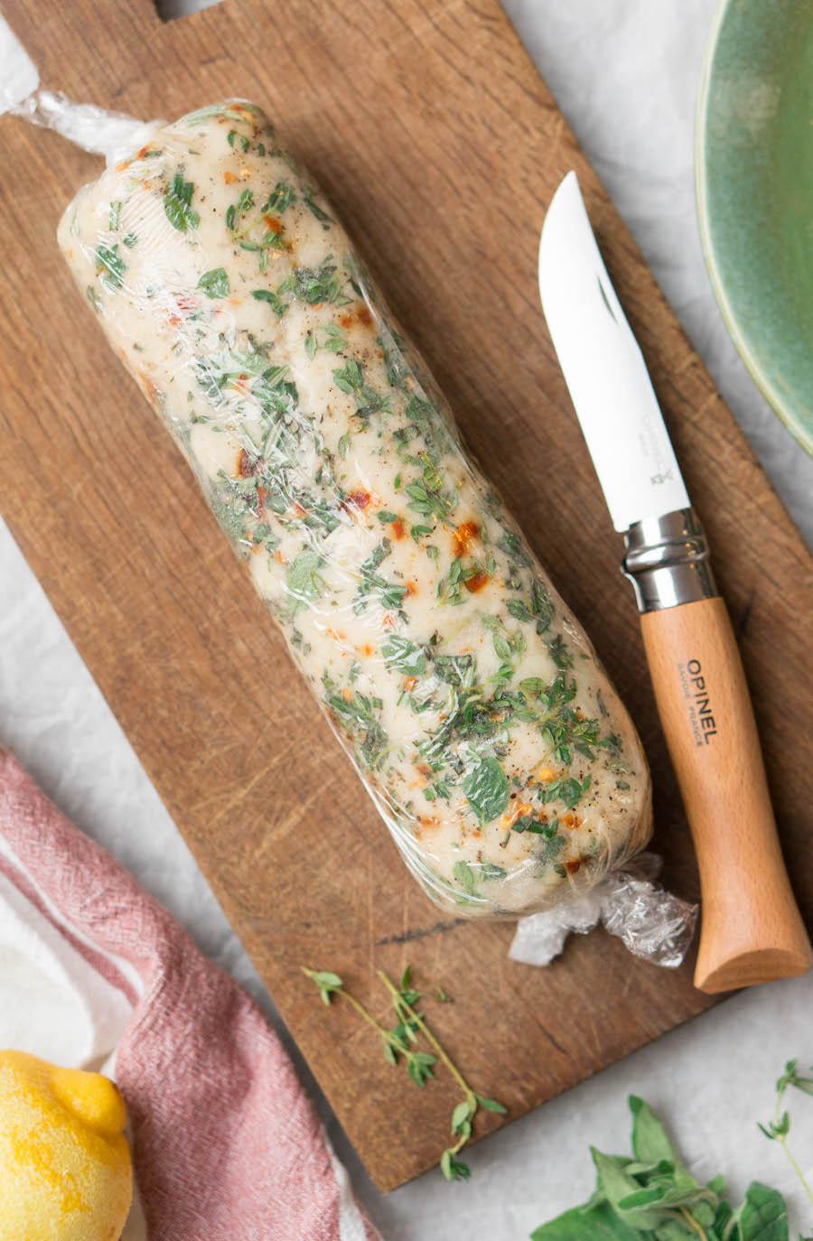 vegetarische paté van knolselderij
