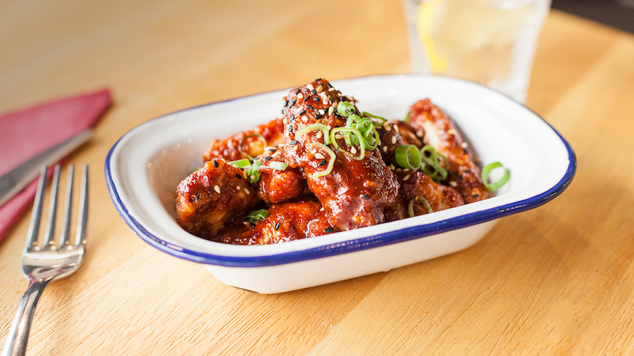 Baogo chicken wings