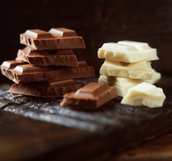 blonde chocolade