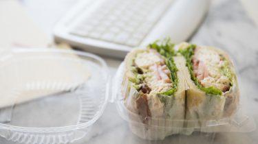 lunch op kantoor