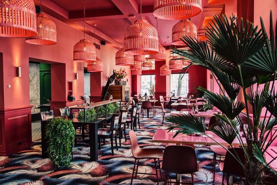 Interieur The Street Food Club