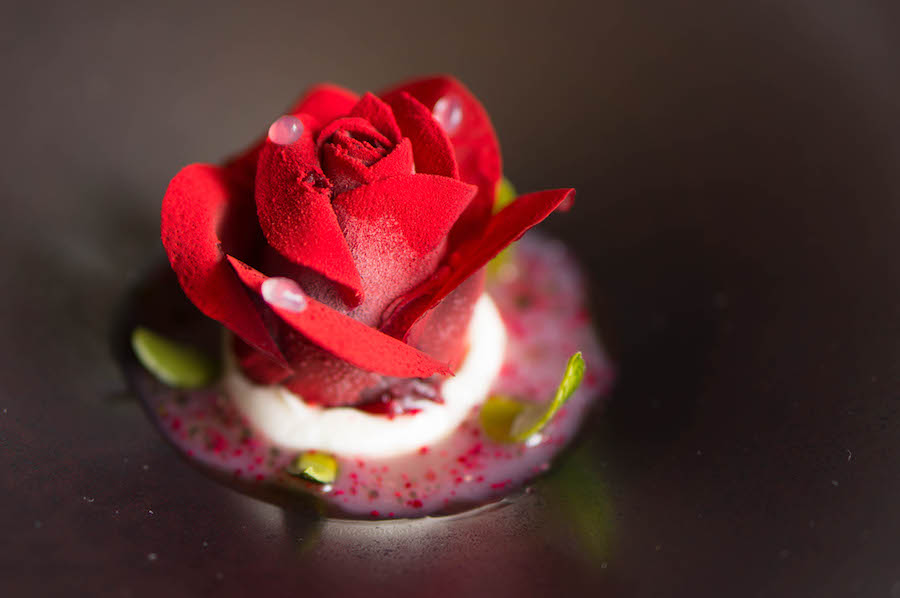 dessert roos Bord'Eau