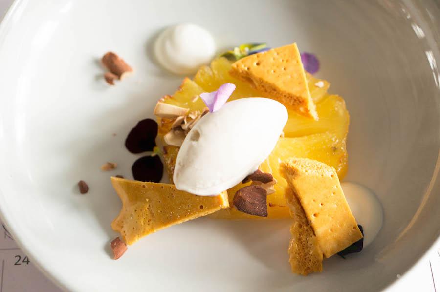 Ananas Bar Kantoor dessert