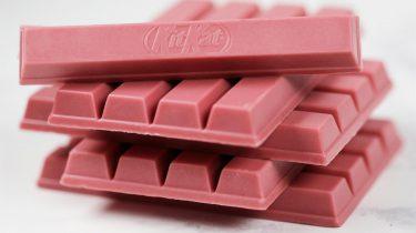 roze KitKat Ruby chocolade