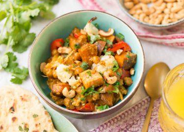 vegetarische tikka masala