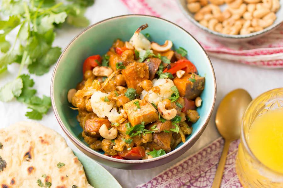 vegetarische recepten tikka masala