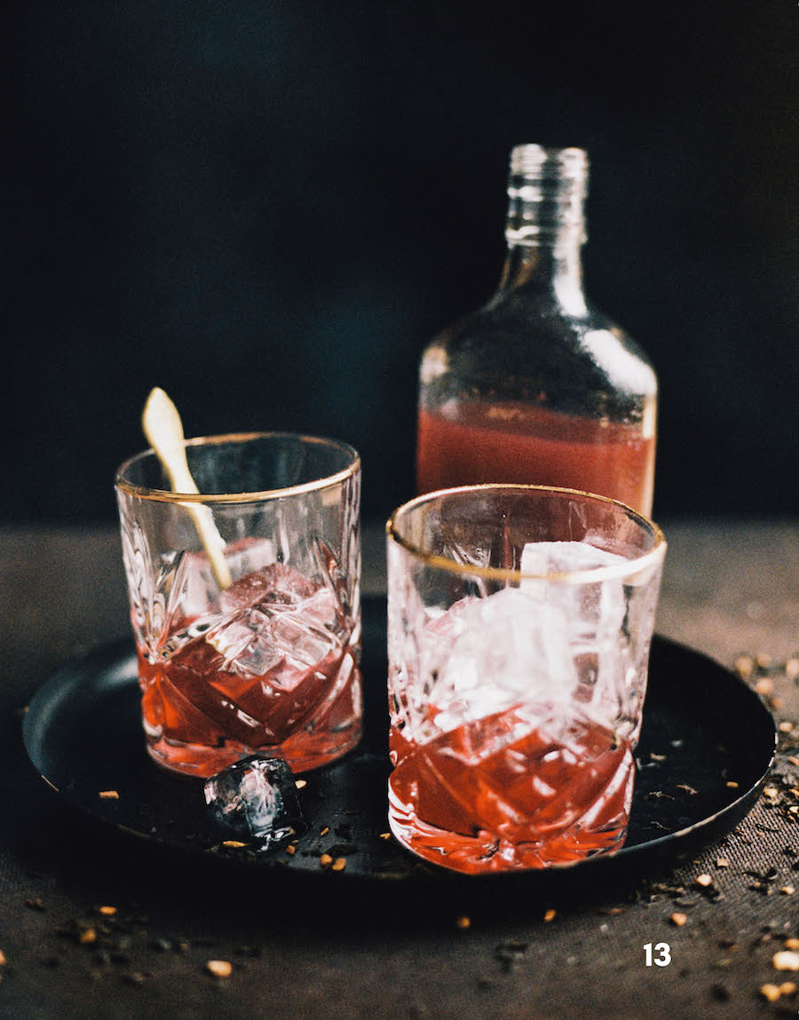 smokey cherry tea ijsthee