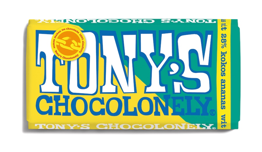 Tony's Chocolonely nieuwe estafettereep
