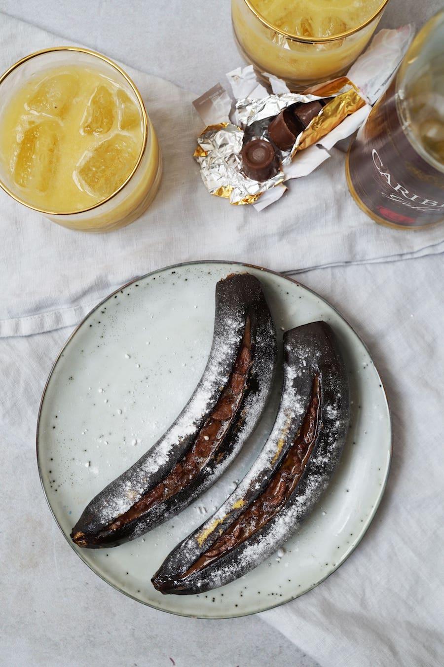banaan bbq cointreau
