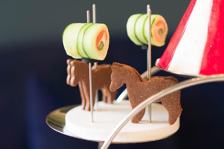 gingerbread met foie gras