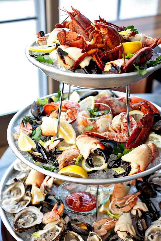 fruits de mer menukaart Meddens in Hilversum