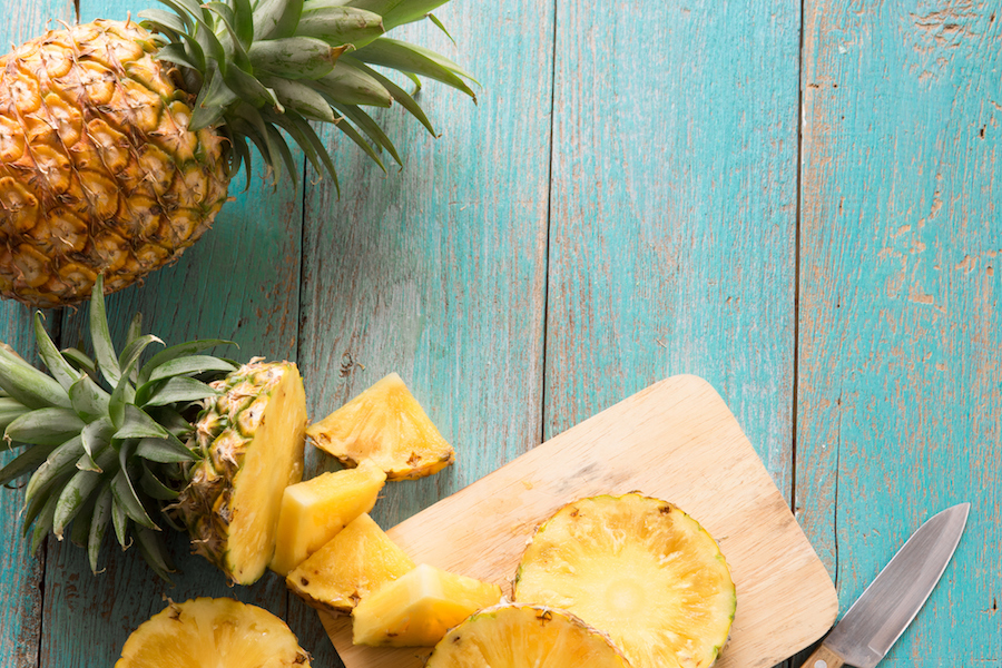 Ananas irriteren