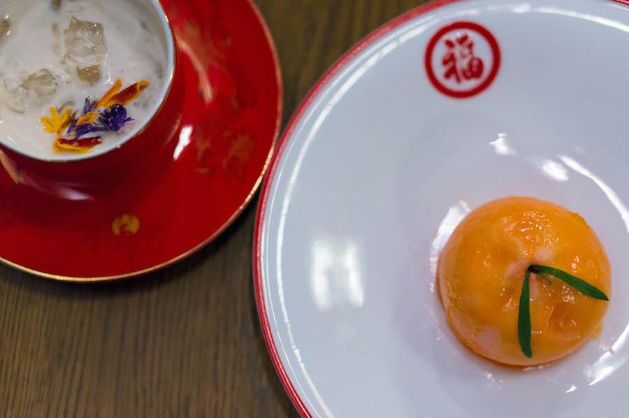 Dessert bij Zheng