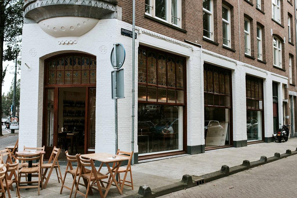 Café Binnenvisser in Amsterdam