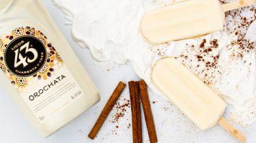 Horchata ijsjes met Licor 43 Orochata