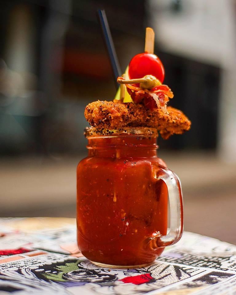 Beroemde Bloody Mary van G's Amsterdam