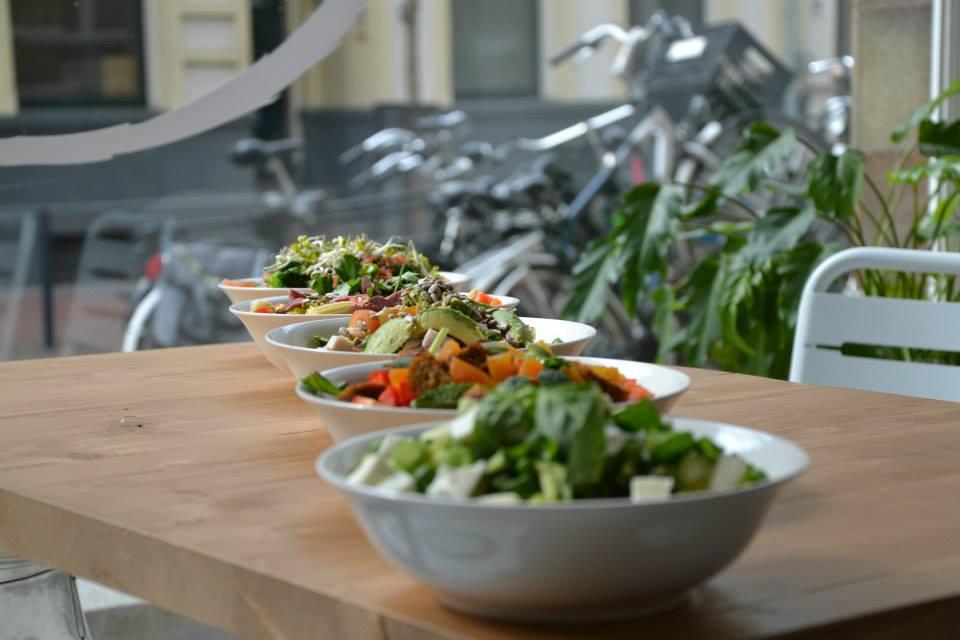 MUNT saladebar uit eten in Nijmegen