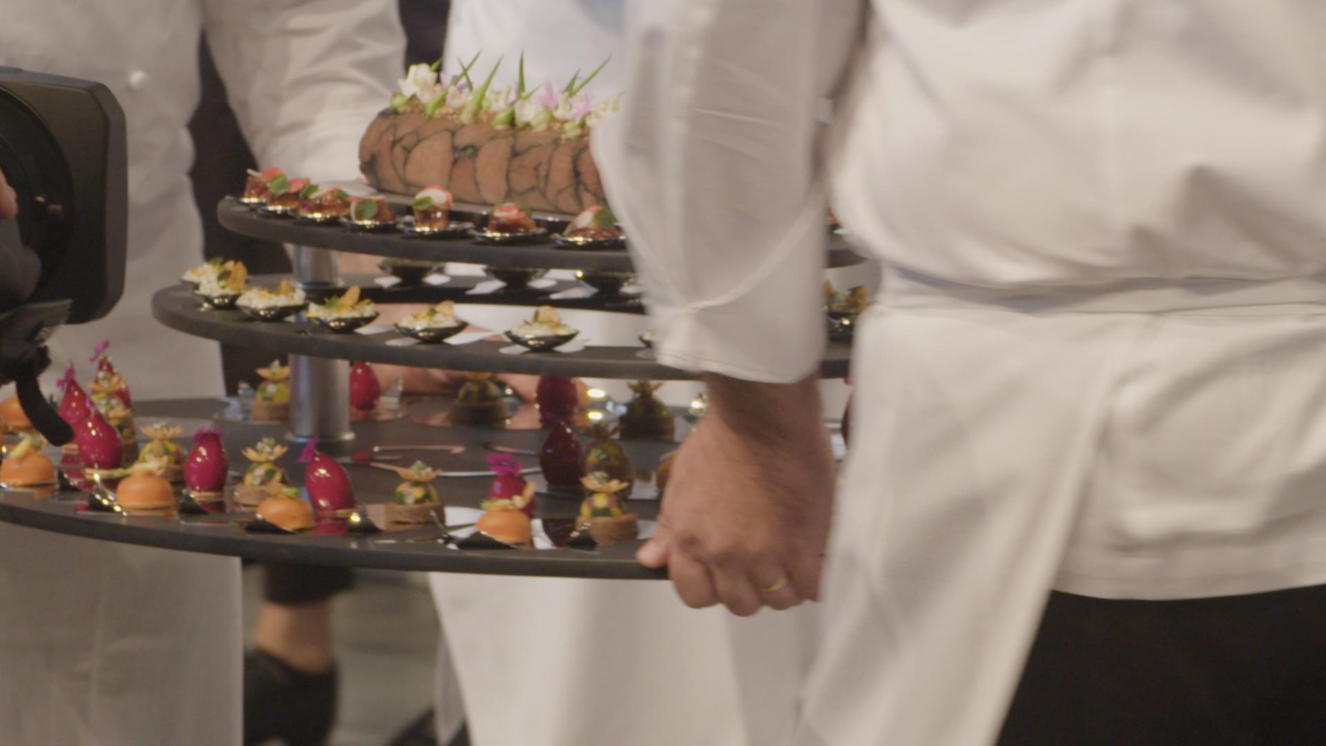 De Nederlandse gerechten tijdens Bocuse d'Or in Turijn