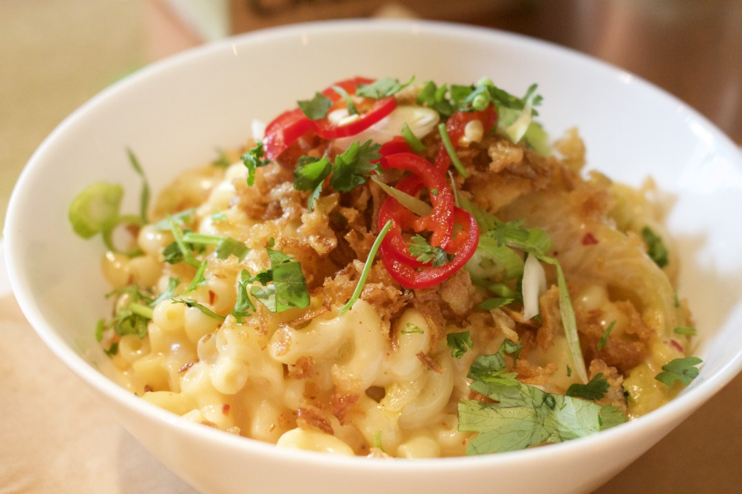 Mac 'n Cheese bij Bar Karakter