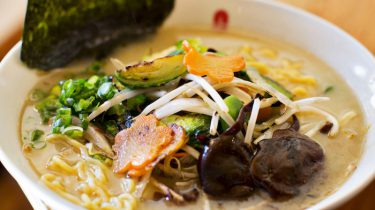 Comfort food vegetarisch: ramen