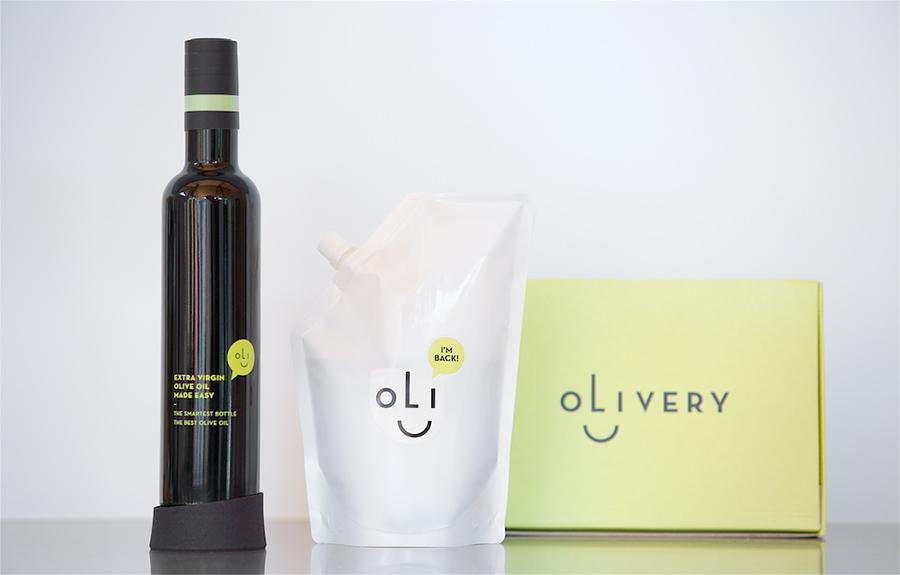 Olivery: olijfolie in een smart bottle