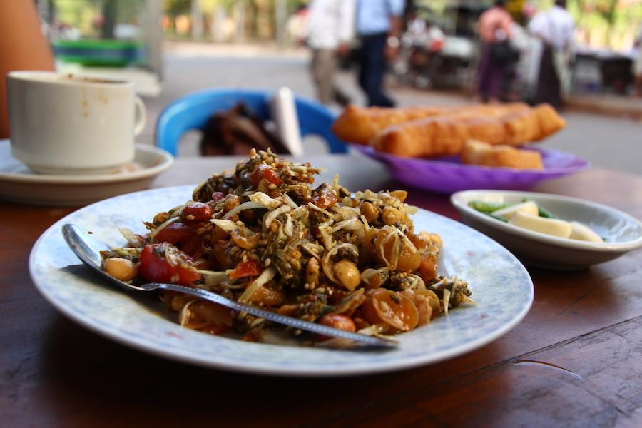 Lahpet Thoke oftewel: Birmese theesalade