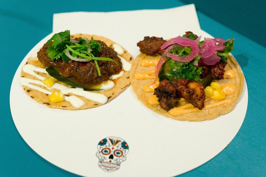 Taco's bij Taqueria Lima in De Foodhallen in Rotterdam