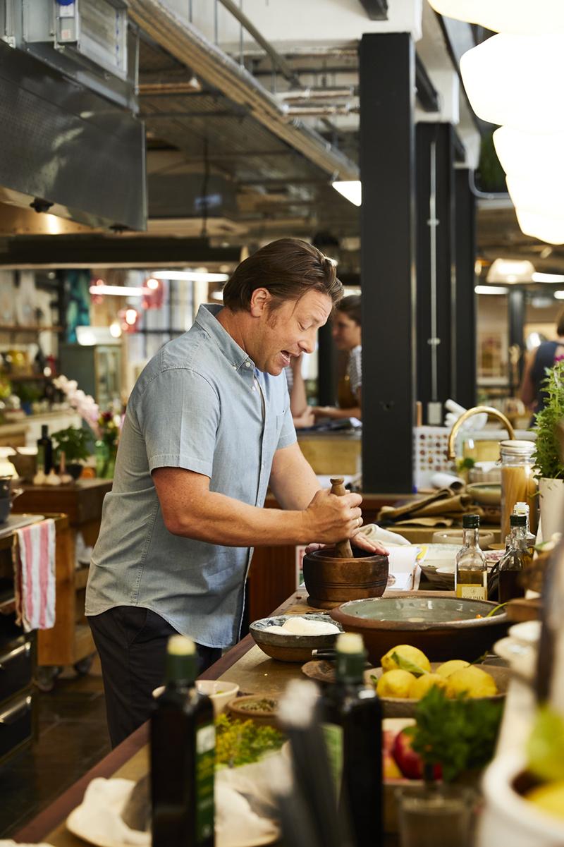 Jamie Oliver Italiaanse keuken