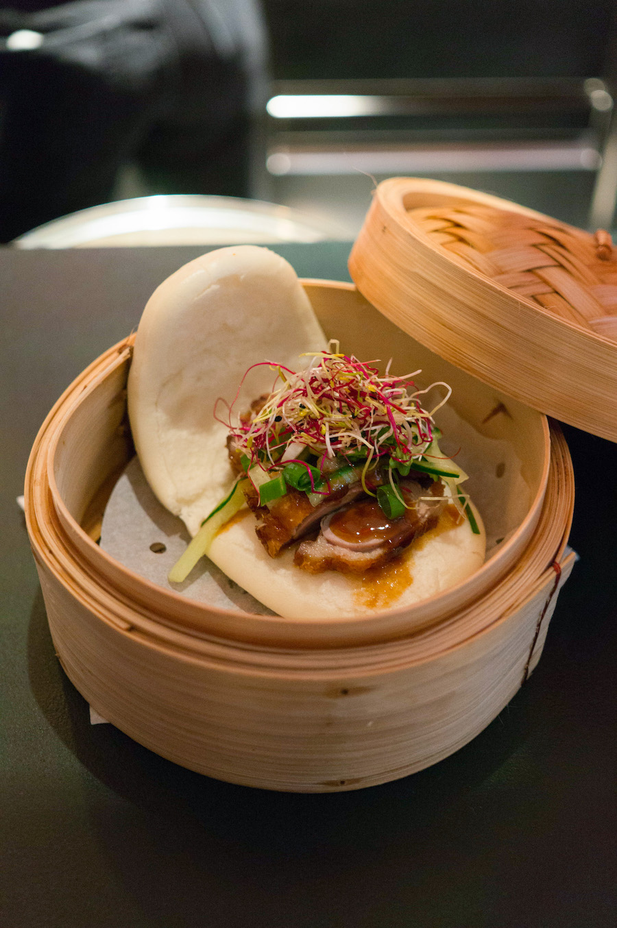 Bao in de Foodhallen in Rotterdam