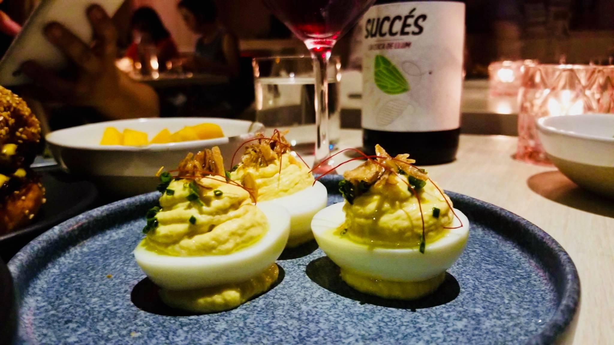 Luxe gevulde eieren