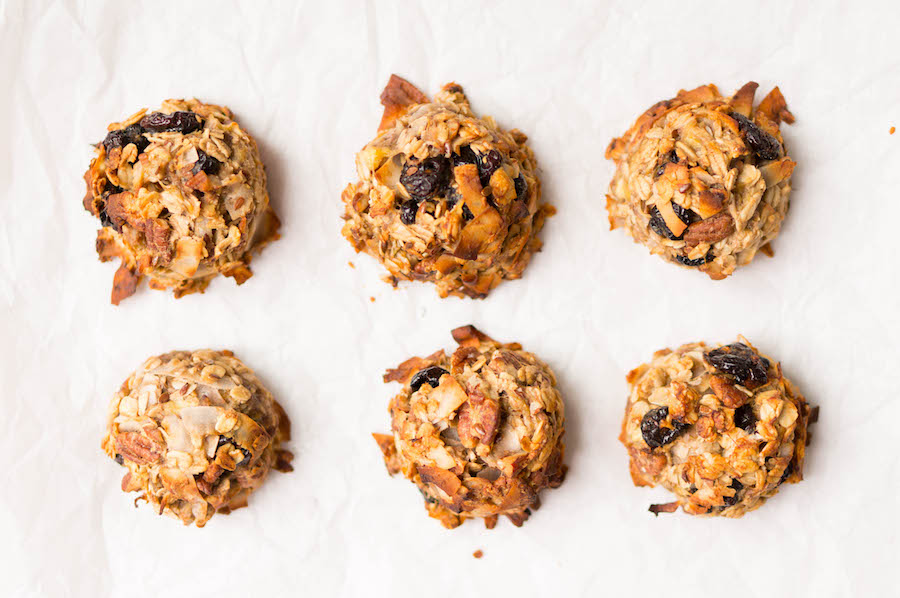Culy Homemade: havermoutkoekjes met pecan en kokos (voor het ontbijt)