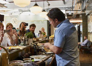 Jamie Oliver over Parmezaanse kaas